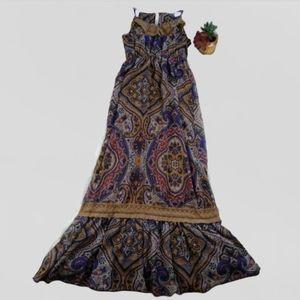 Xhilaration Bohemian Maxi Dress Size Small